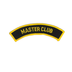 "1356 Masters Club Patch 5""W"
