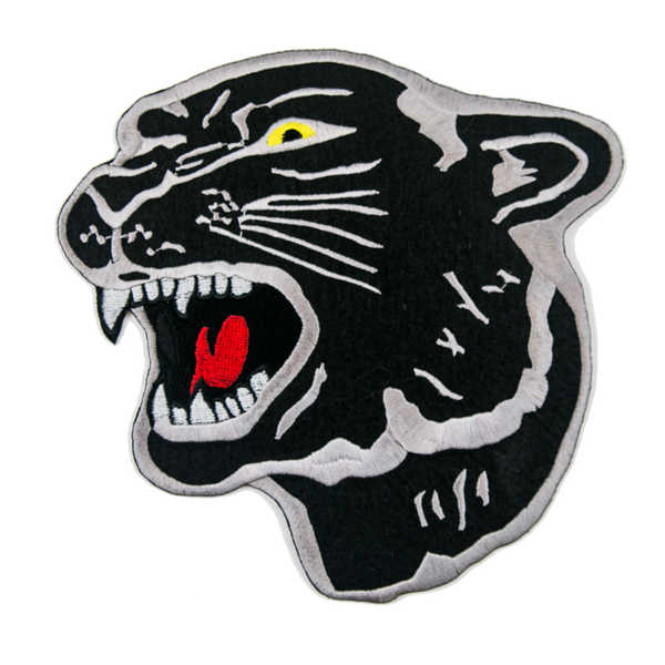 1364 Black Panther Patch 8""
