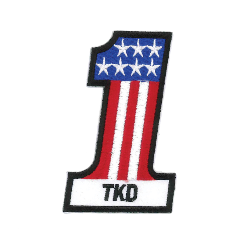 "1366 #1 TKD Patch 4""H"