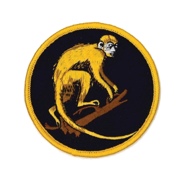 1374 Rhesus Monkey Patch 3""