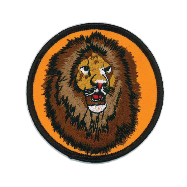1376 Lion Head Patch 3""