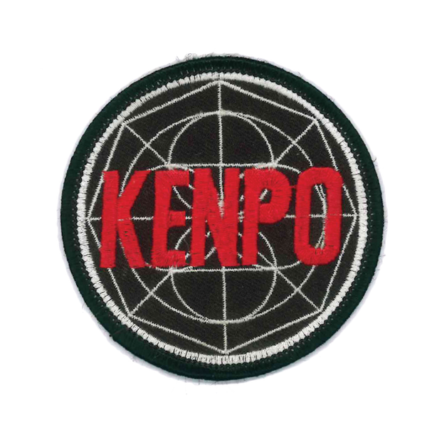 1386 Black Kenpo Patch 3""