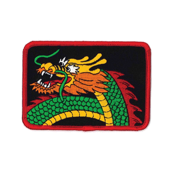 "1393 Dragon Face Patch 4""W"
