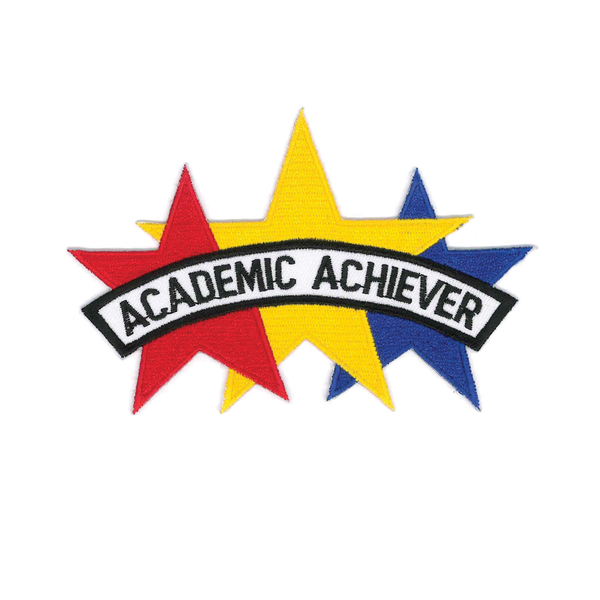"1407 Academic Achievement Patch 5""W"