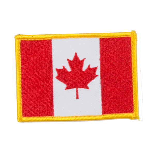 "1411 Canadian Flag Patch 4.5""W"