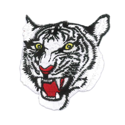 1420 White Tiger Patch 3""