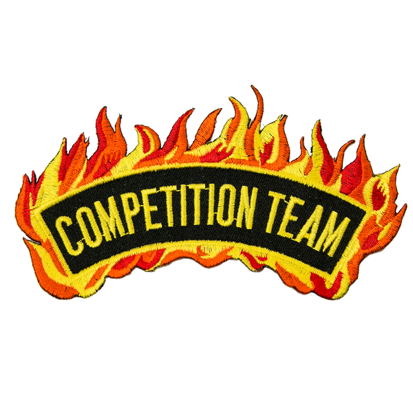 "1424 Competition Team Patch 4.75""W"