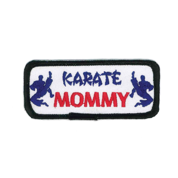 "1445 Karate Mommy Patch 3.5""W"