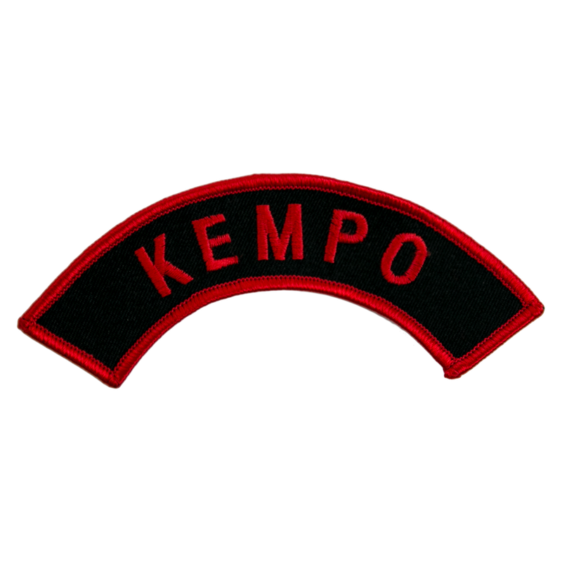 "1448 Kempo Arch Patch 5""W"