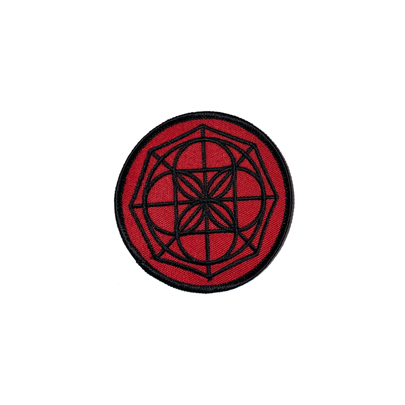 1528 Kenpo Universal Symbol Red Patch