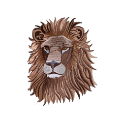 1546 Lion Head Patch
