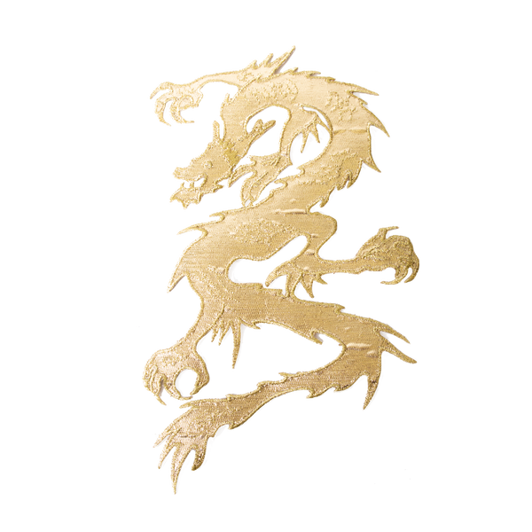 1599 Gold Dragon Patch