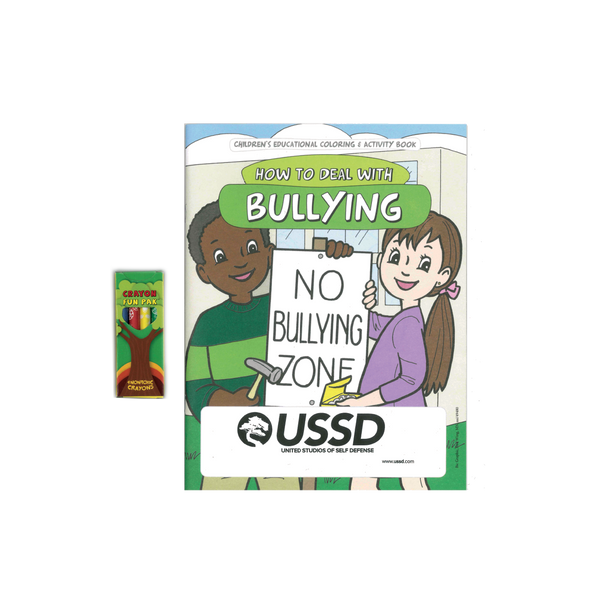 USSD Bully Coloring Book & Crayon Set