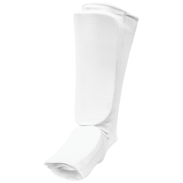 Cloth White Shin-Instep Guard