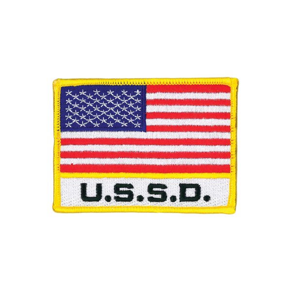 USSD Flag Patch