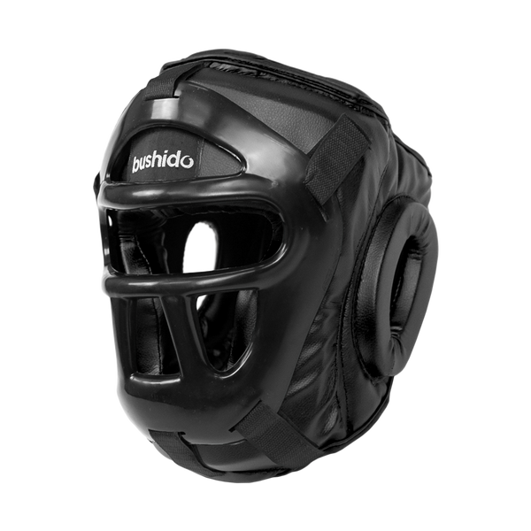 Flextuf Black Caged Helmet