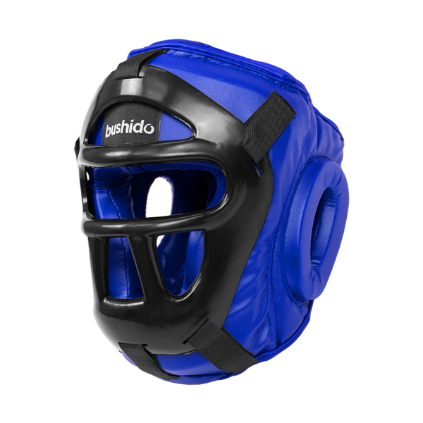 Flextuf Blue Caged Helmet