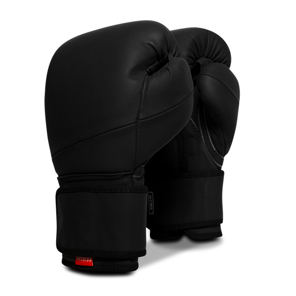 Icon Pro Training Boxing Gloves: Onyx