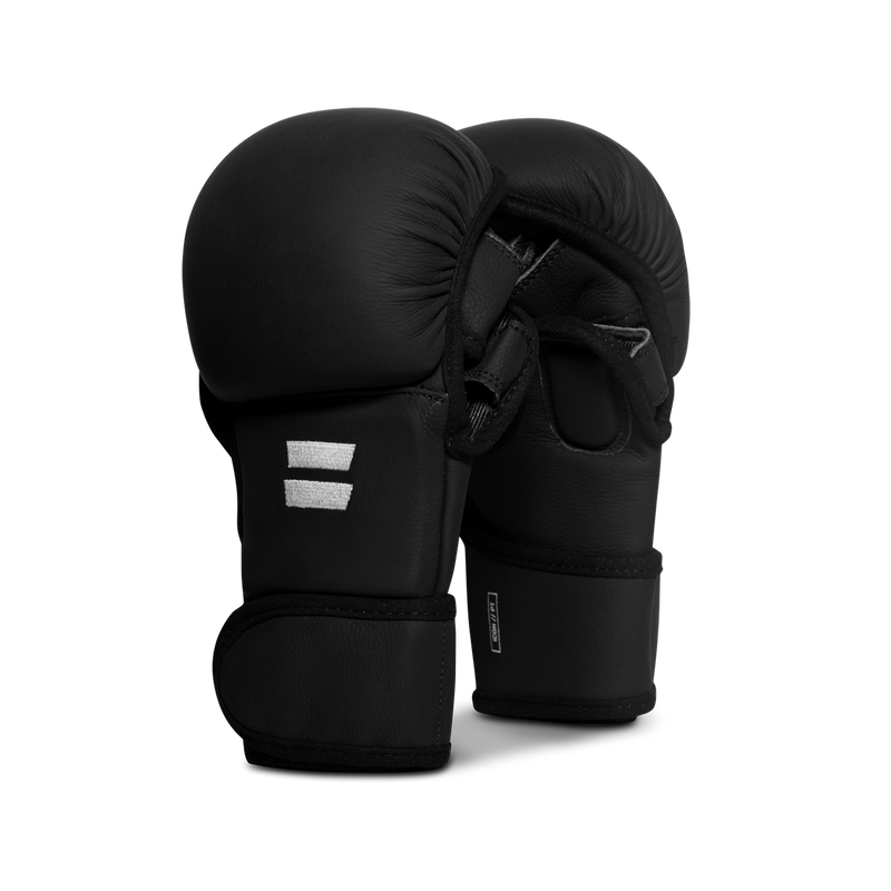 Icon Pro Training Hybrid Gloves: Onyx