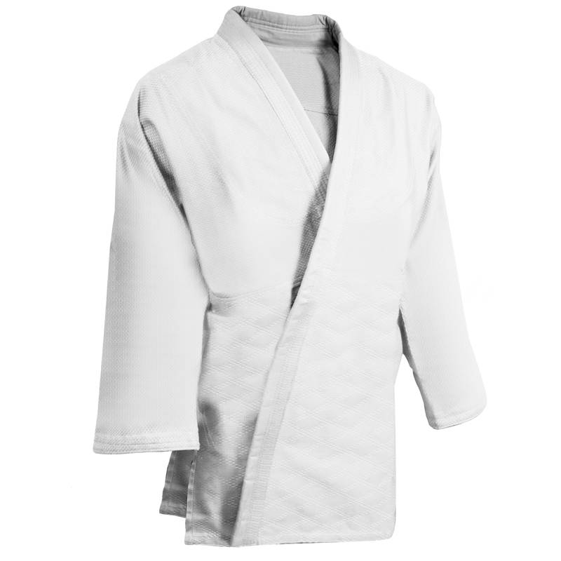 Judo White Single Weave Uniform
