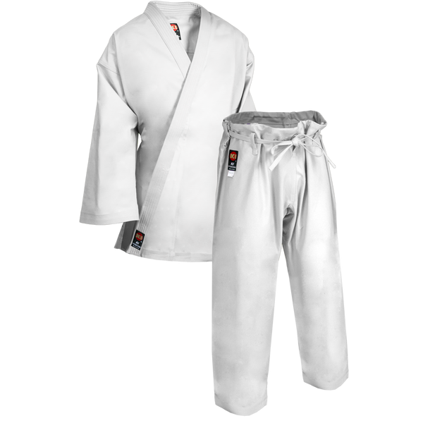 KI White Heavyweight Uniform