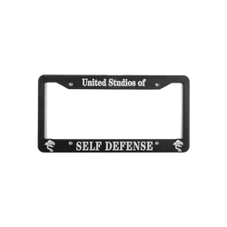USSD License Plate Frame