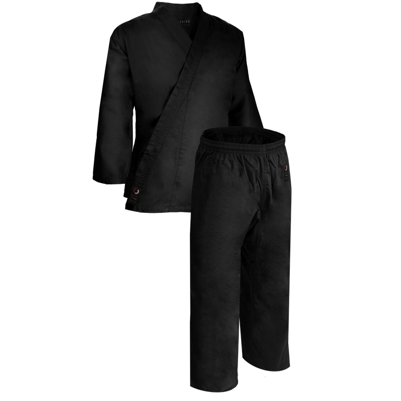 8.5oz Black Middleweight Uniform
