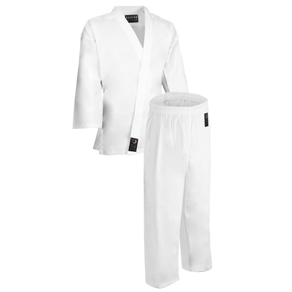 8.5oz White Middleweight Uniform