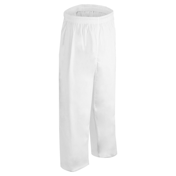 8.5oz White Middleweight Pants