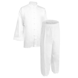 White Kung Fu Uniform