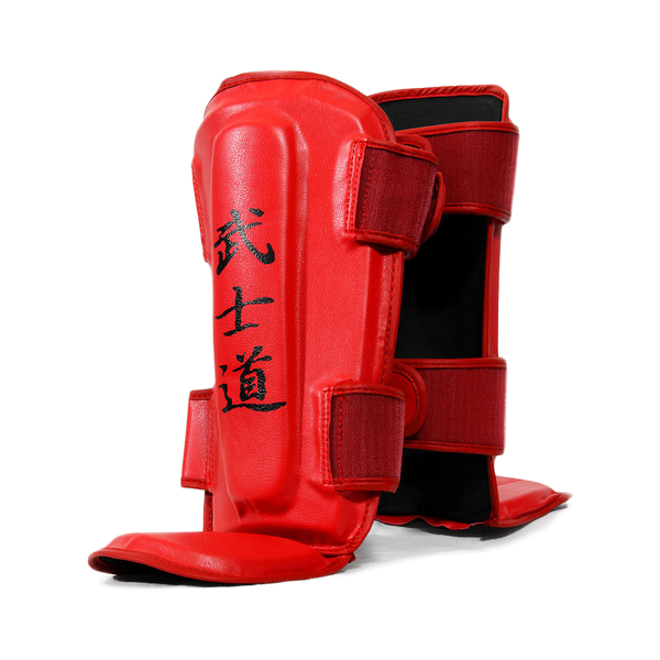 Warrior Red Shin Instep Guard