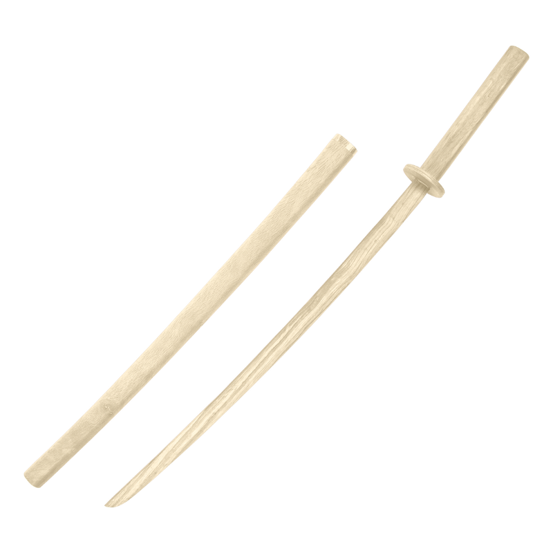 White Oak Bokken with Scabbard