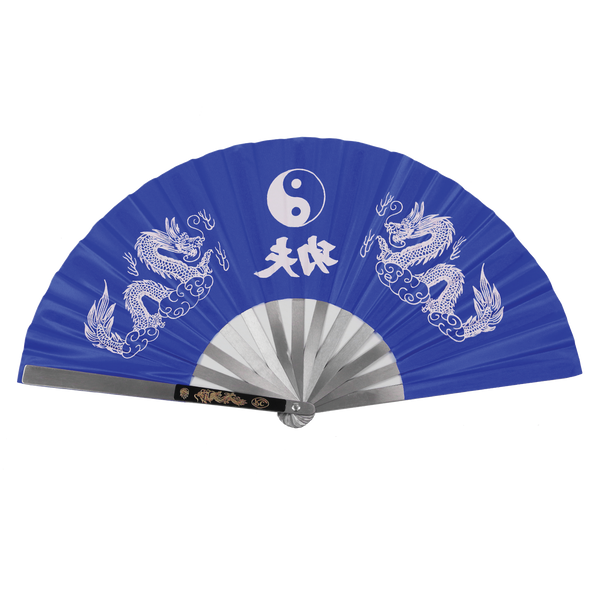 Yin Yang Dragon Fan