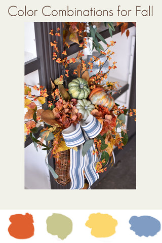 Fall Decorating Color Combination Ideas