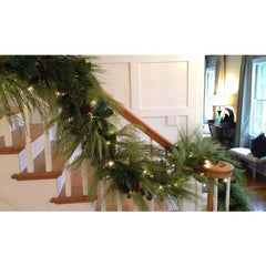6' Faux Long Needle Pine Garland