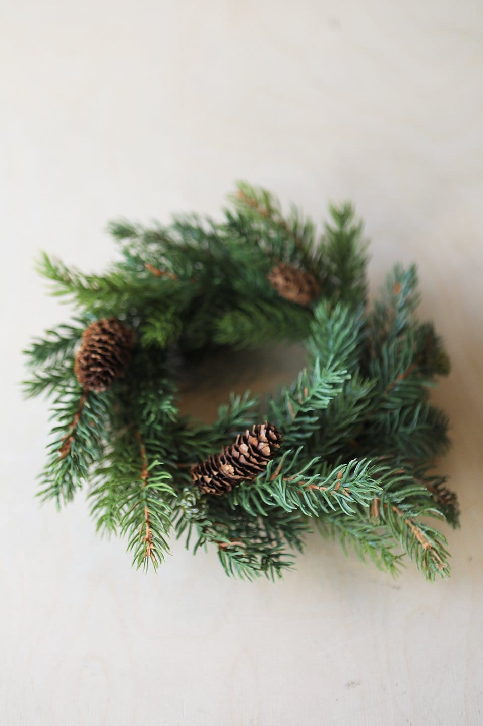 Pine Candle Ring
