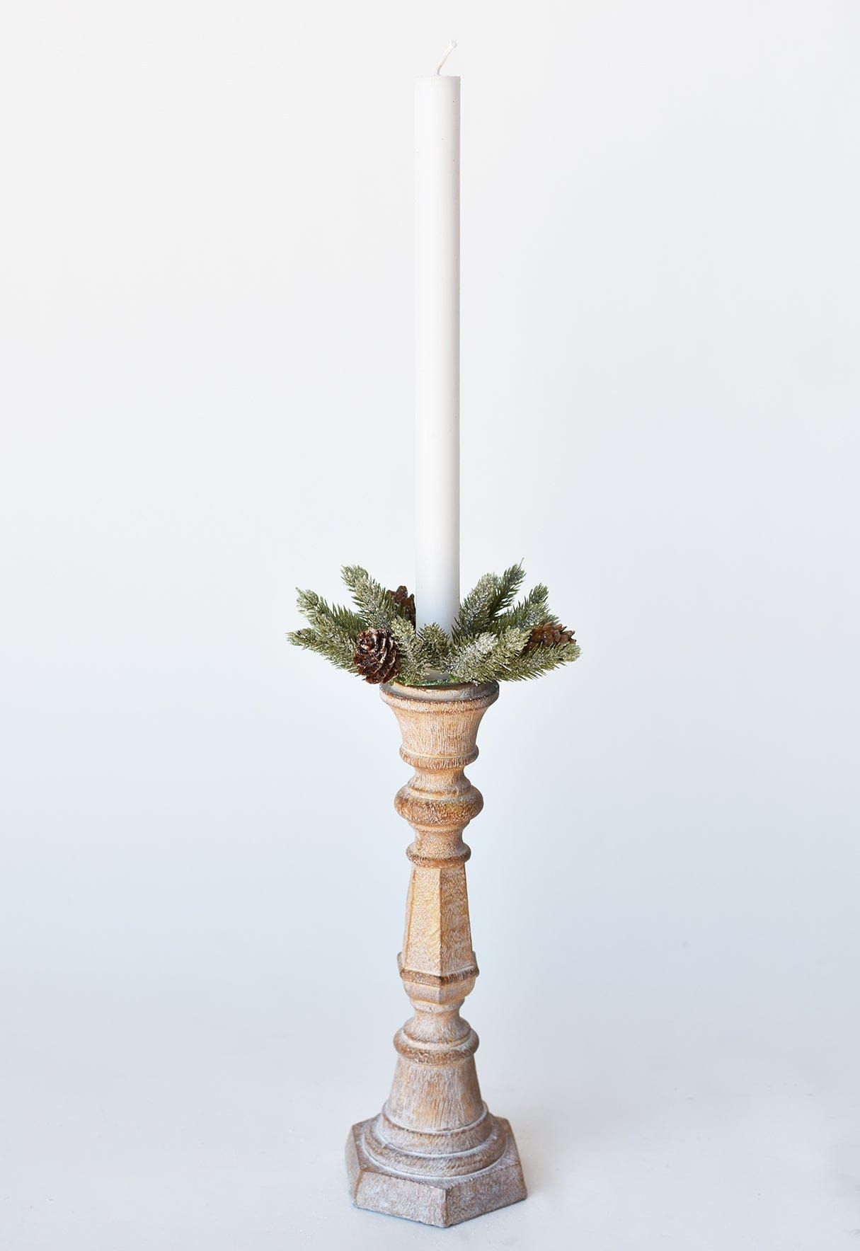 "21"" Faux Ranunculus Spray White"