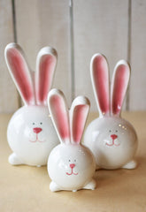 "8.5"" Hugging Bunnies Figure"