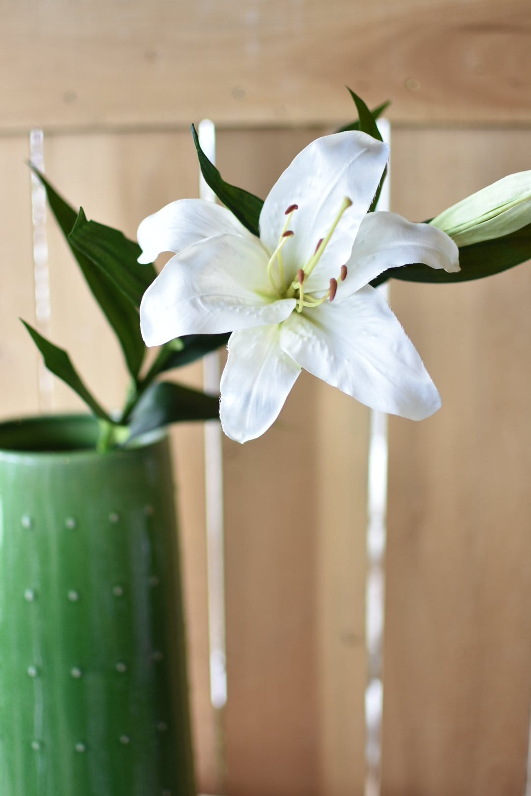 "35"" White Lily"