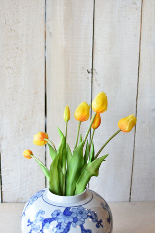 "18"" Yellow Tulip Bundle of 7 Tulips"
