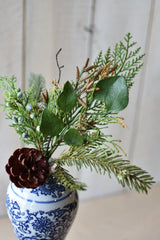 "16"" Mixed Pine Greenery Stem"