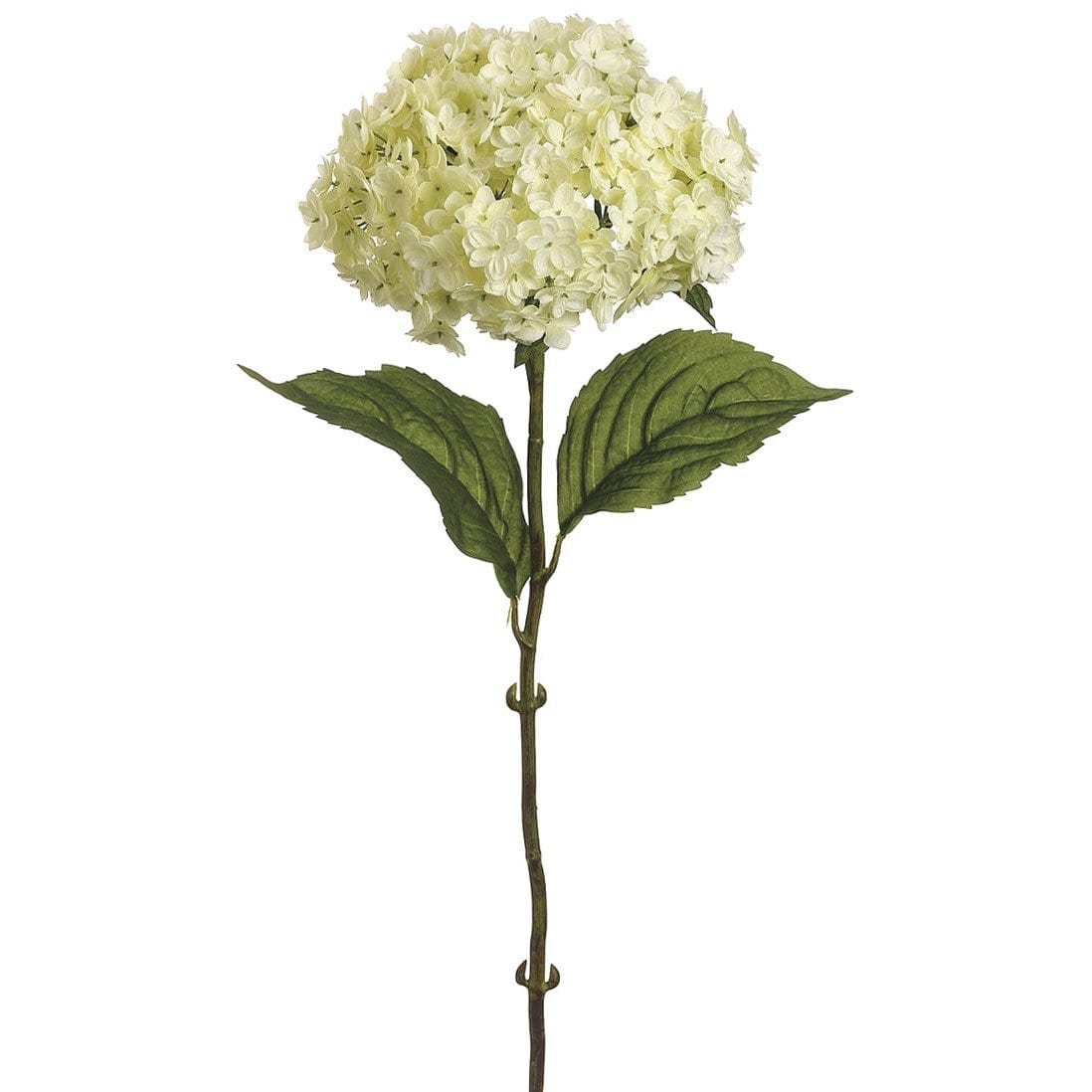 "25"" Faux Hydrangea Spray White"