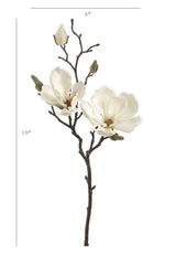 "19"" Faux Magnolia Spray"