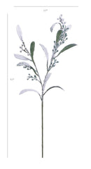"31"" Winter Eucalyptus Berry Spray"