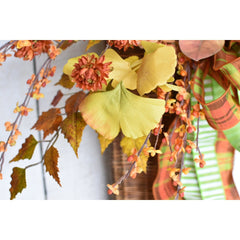 faux bittersweet berry stem berries spray fall decor artificia