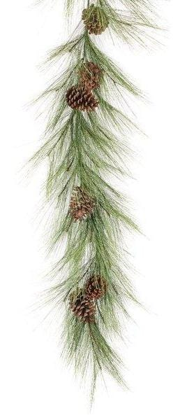 6' Long Needle Pine Garland