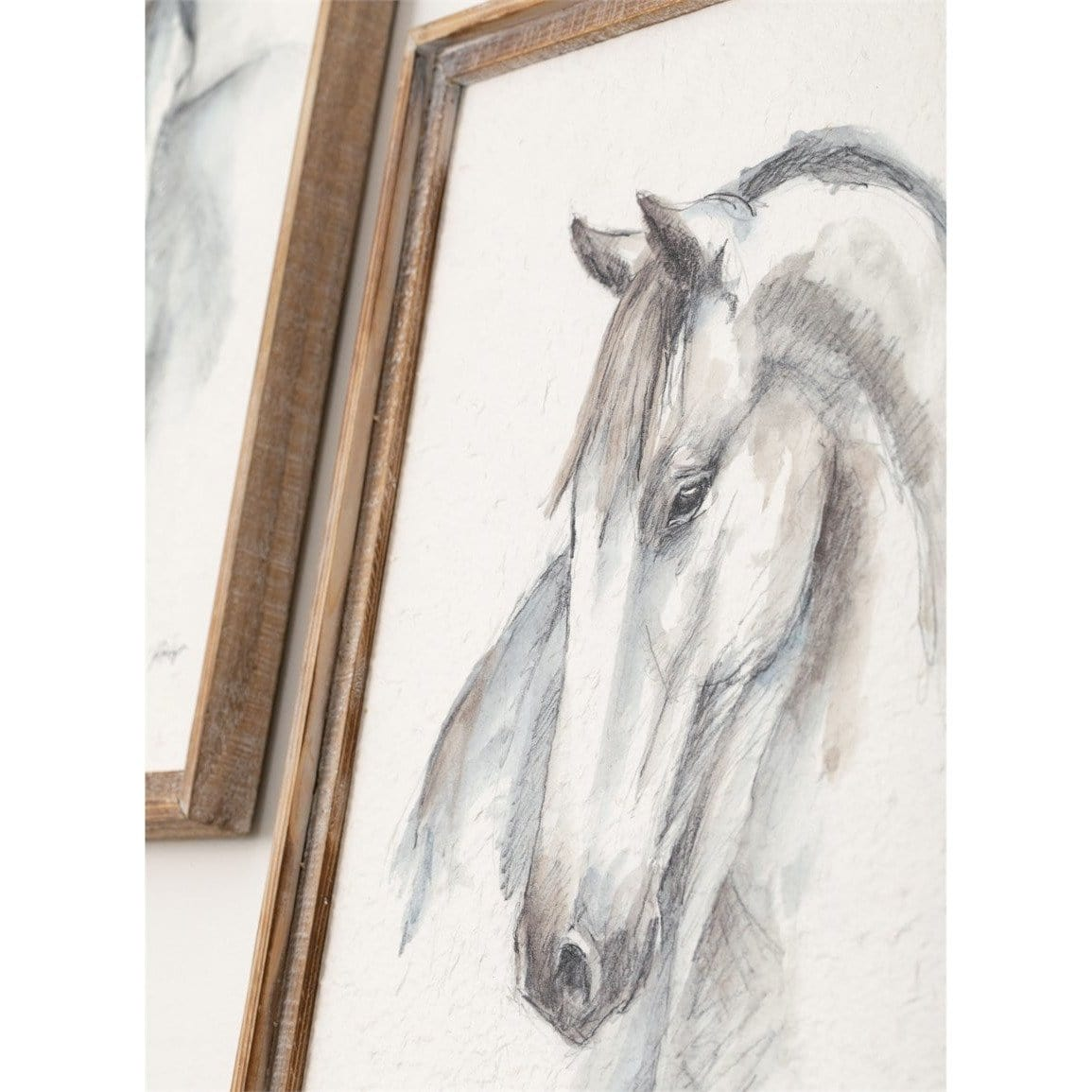 Watercolor Horse Art
