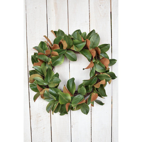 "24"" Magnolia Wreath"