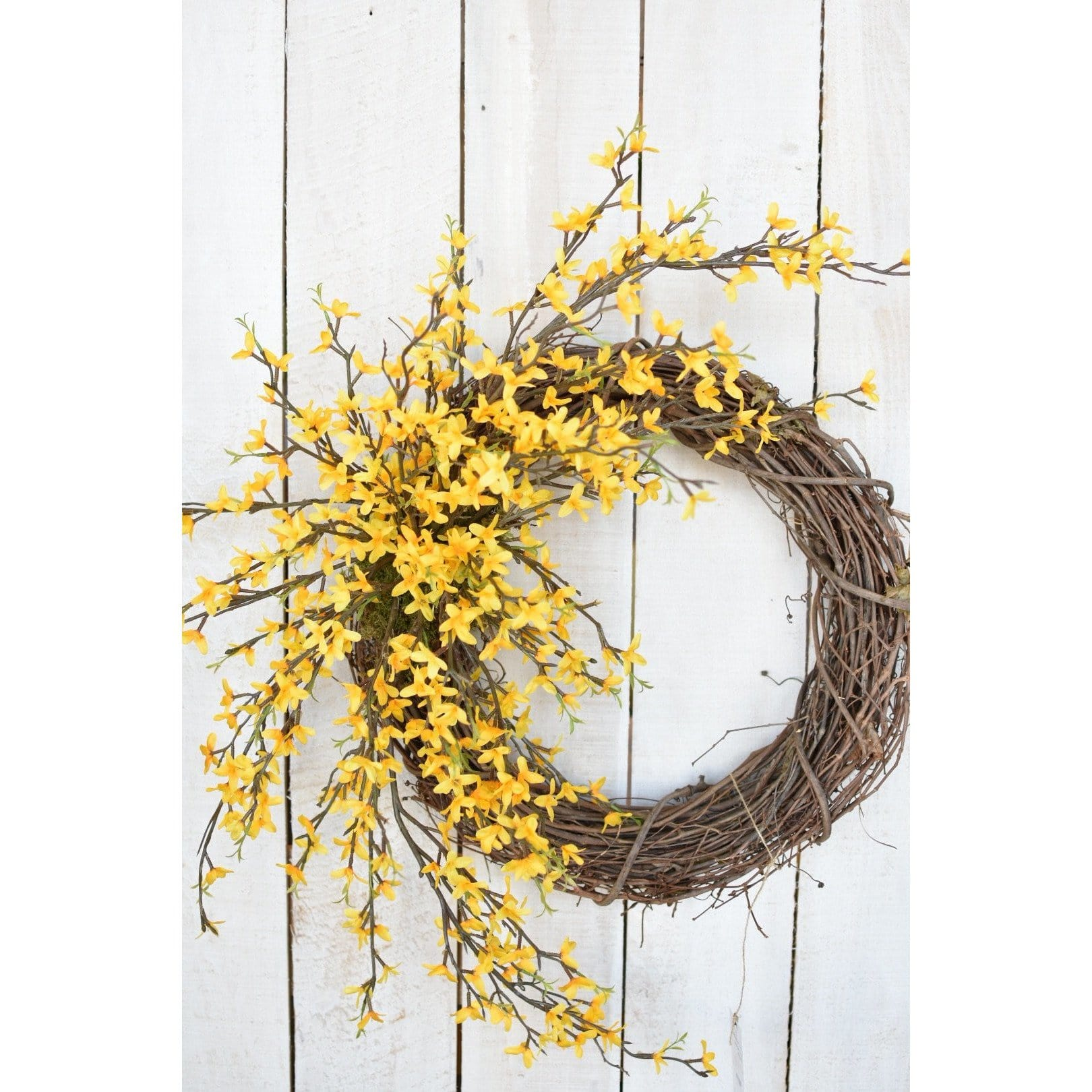 Forsythia Door Wreath