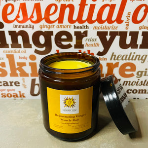 Rejuvenating Ginger Muscle Rub